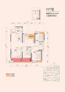 嘉宇·柳湖印F户型