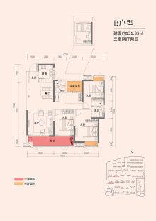嘉宇·柳湖印B户型