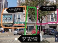 东星熙城637平临街门面低价出租