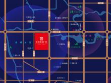 汇景中央广场配套图